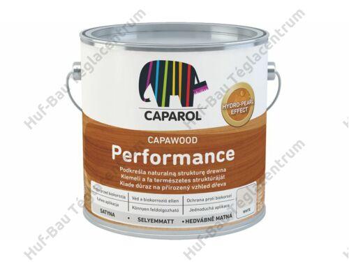 CAPAROL CapaWood Performance White vékony falazúr 2,5L
