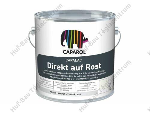 CAPAROL Capalac Direkt auf Rost RAL9005 fekete zománcfesték 2,5 L