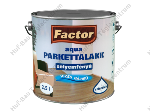 FACTOR Aqua Parkettalakk selyemfényű 2,5l