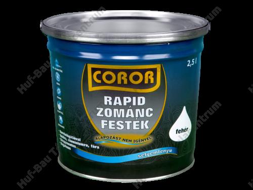 COROR Rapid Zománc világos barna 2,5l