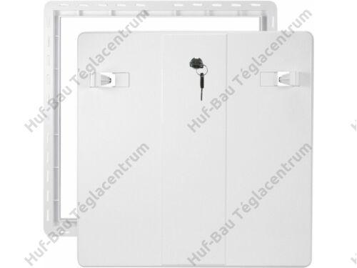 HACO revíziós (szerelő) ajtó 200x200mm fehér műanyag DV 200x200 B (103)
