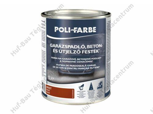 POLI-FARBE Garázspadló, beton- és útjelző festék Pirit 5l