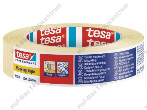 TESA Festőszalag 25mmx50m Economy 60fokig (51023-00001-00)