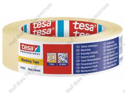 TESA Festőszalag 30mmx50m Economy 60fokig (51023-00002-00)
