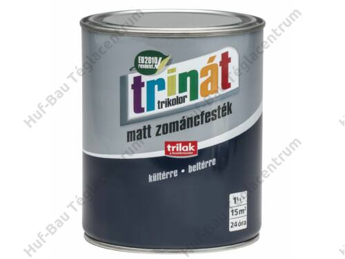 TRILAK Trinát Matt Zománcfesték 504 Barna 1l