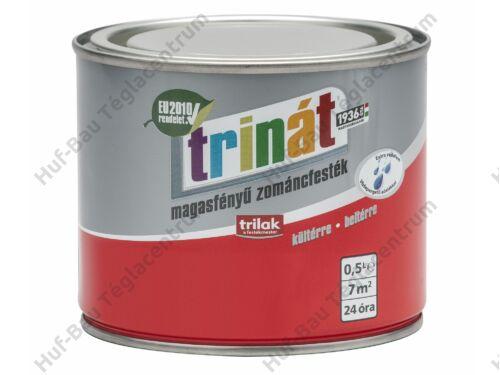 TRILAK Trinát Magasfényű Zománcfesték 100 Fehér 0.5l