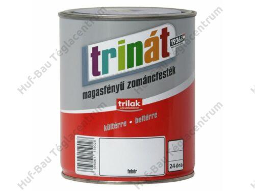 TRILAK Trinát Magasfényű Zománcfesték 100 Fehér 2.5l
