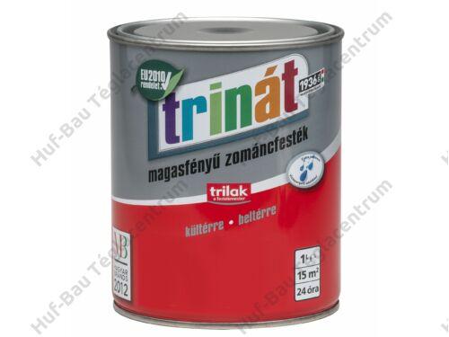 TRILAK Trinát Magasfényű Zománcfesték 830 Bordó 1l